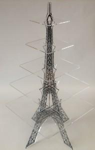 wieża eiffla - stojak z plexi